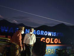 Nginap di Desa Colol, Viktor Dorong Buka Toko Kopi Colol Digital