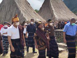 Viktor Laiskodat Kunjungi Wologai, Kampung Adat di Flores Berusia 800 Tahun