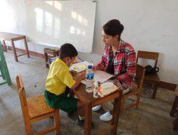 Yayasan Mariamoe Peduli Beri Pendampingan 2 TK Negeri di Manggarai Timur