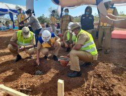Rumah Baru Bagi Korban Badai Seroja di Kota Kupang Mulai Dikerjakan