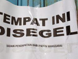 Pemda Manggarai Tutup Paksa Puluhan Ruko di Masa Pandemi Karena Telat Bayar Sewa