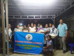 Komunitas Tritunggal Mahakudus Berbagi Kasih dengan Masyarakat Kota Kupang yang Terdampak Badai Seroja