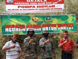 TNI Kodim 1612 Manggarai Buka Akses Air Bersih bagi Warga Beokina di HUT RI Ke-76
